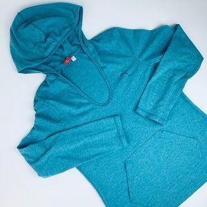 Puma Tops - 💰SALE Puma Light Hoodie Turquoise Blue Size Large